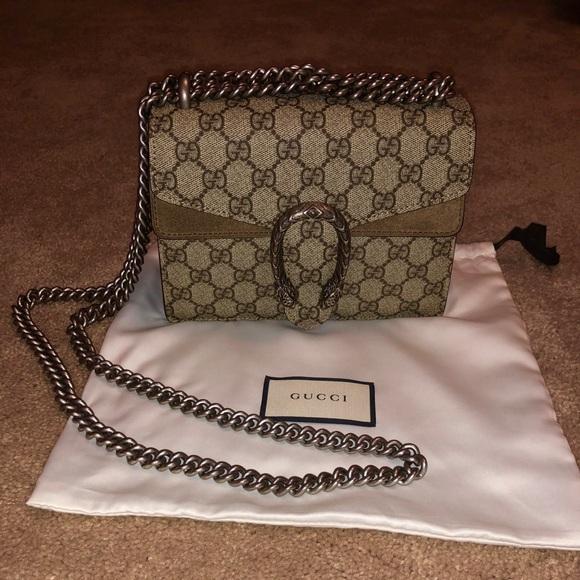 Gucci Handbags - 100% Authentic Gucci Dionysus GG Supreme Mini